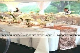 Rectangle Tables Wedding Reception Rectangle Table Centerpieces Designmage