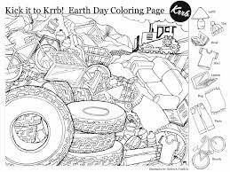In this section you will find all the free earth day coloring pages to print and download. Earth Day Hidden Pictures Coloring Page Printables 4 Mom