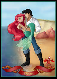 Small Picture ariel and eric commission by nightwing1975 on DeviantArt