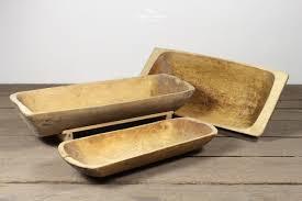 vintage wooden rustic dough trough bowl 23952 pic1 size1 jpg