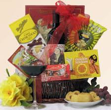 breakup gift basket with il o wine snacks