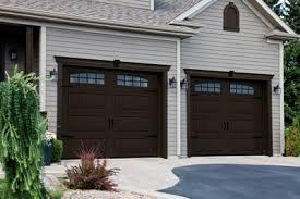 double carriage garage doors. Perfect Doors North Hatley Carriage House LP 9u0027 X 7u0027 Moka Brown To Double Garage Doors 4