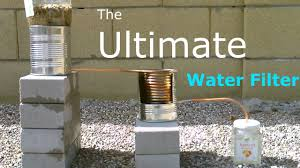 How To Filter Water Without A Filter Ultimate Diy Water Filter 2 Stage Water Purifier Purifies