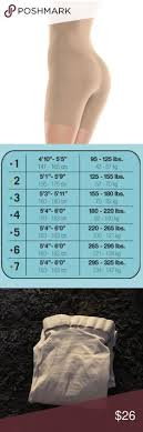 Assets By Spanx Size Chart Clothes