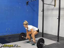 deadlift form gif deadlift crossfit exercise guide with photos and instructions