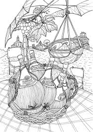 Coloring Europe Bella Italia A Coloring Book Tour Of The World