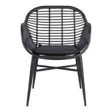 Deck <b>Tub Chair</b> of <b>Black</b> Coated Steel - Early Settler