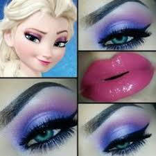 2016 disney eye makeup tutorials of princess elsa lip makeup
