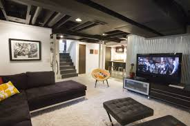 cool basements. Modren Basements Best Of Home Design Cool Basements With Artwork And Barstool Also Black For  Intended H