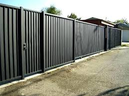 how to build a corrugated metal fence furniture corrugated metal fence panels