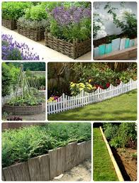 garden edgers. Collage Of Wooden Garden Edging Edgers
