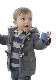 Ekaliy Winter Toddler Boy Kids Fleece Coats Jackets with Hoodies Grey 2t Amazon.com: Infant Baby