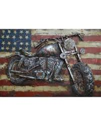 empire art motorcycle 3 primo mixed media hand painted iron wall sculpture multi on motorcycle wall art sculpture with bargains on empire art motorcycle 3 primo mixed media hand painted