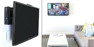 tv wall mount with cable box holder hiding cable box for wall mounted you can attach
