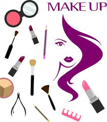 beauty salong background makeup accessories icons woman sketch free png psd ai and vector fomat