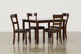 Living Spaces Dining Table Set Rio 5 Piece Dining Set Living Spaces