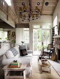 Interior Design For Small Spaces Living Room And Kitchen Love This Rustic Cozy Open Concept Living Room Kitchen