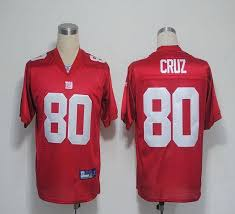 Jersey With Cheapest Stitched Victor Red Cruz Giants Shipping Nfl Free 80 Sale