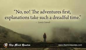 Lewis Carroll Quotes Gorgeous Lewis Carroll Quotes on Life and Adventure themindquotes