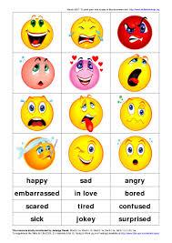 Spanish Feelings Chart Free Feelings Download Free Clip Art Free Clip Art On