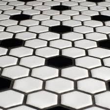 black and white tile floor. Hexagonal Tile You Ll Love Wayfair In Black And White Flooring Prepare 2 Floor H