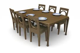 proper dining table size for a room