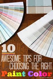 how to choose paint colorsAwesome Tips For Choosing The Right Paint Color