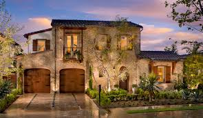 Italian-style homes at Ponticelli  Located in a gated community with a  working avocado grove, this home sits amid a .