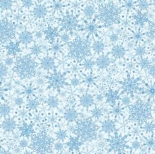 Snowflake Texture Seamless Pattern Background Royalty Free Cliparts