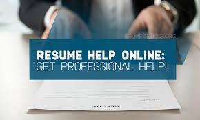 Resume Help Online Get Professional Help Resume Service Org