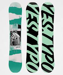 Yes Snowboard Size Chart Yes Typo Snowboard 2020