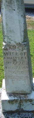 Nancy Lee Walters (1795-1869) - Find A Grave Memorial