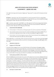 This web design agreement is entered into as of date by and between companyname having its principal place of business located at address. Website Design Agreement Templates At Allbusinesstemplates Com