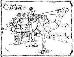 Small Picture Camel Cart Coloring Page Free Camel Coloring Pages