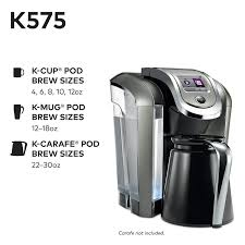 Allows you to brew 10+ this is also a fully programmable coffee maker that could meet the demands of a modern coffee lover. 1 Keurig K575 Single Serve Programmable K Cup Coffee Maker Shop Play Day