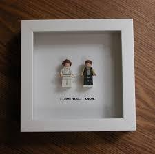 Star Wars Lego Decorations Lego I Love You I Know Star Wars Princess Leia Han Solo
