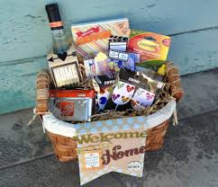 gift basket ideas for welcome home. housewarming gift basket on the mambi blog. wine bottle cover, decorated bottle,. everyone loves a welcome home ideas for e