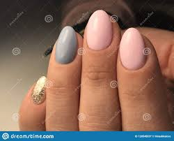 Professional Nail Designs Pictures Cute Nail Design Stock Image Image Of Cute Style Girly