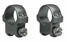 Ruger M77 Scope Ring Set 1 Inch Medium Matte Riflescope Rings 90411