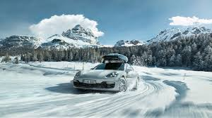 Check out this fantastic collection of porsche 4k wallpapers, with 43 porsche 4k background images for your desktop, phone or tablet. Cars In Snow Wallpapers Wallpaper Cave