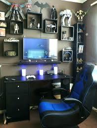 Boys Game Room Gamer Bedroom Ideas Best Gamer Room Ideas On Man Cave ...