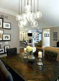surprising chandelier size for dining room or height over table what hei