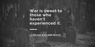 War And Peace Quotes Interesting 48 Quotes About War Quote Kind