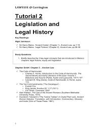 carrington tutorial 2 legislation and legal