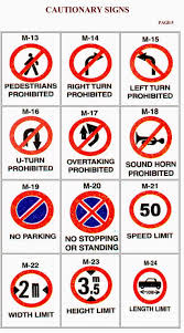 What When Why How Rto Learners Licence Traffic Signs