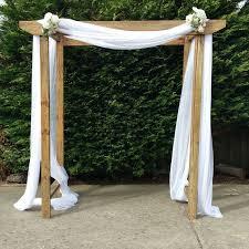 timber wedding arch hire gippsland
