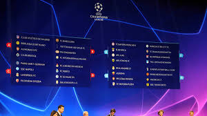 Champions League Chart 2019 Uefa Champions League 2018 19 Groups And Award Winners As Com