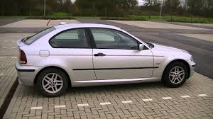 MY 2004 BMW 3-series E46 compact model 316 ti - walk around - 1.8 ...