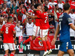 Resultado de imagem para Benfica vitorioso