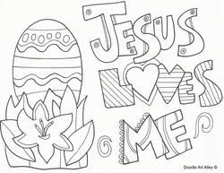 Small Picture Easter Coloring Pages Religious Doodles